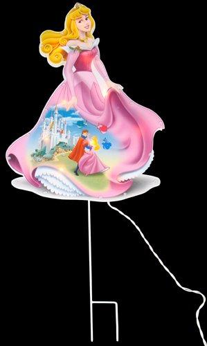 "17"" Disney Princess Aurora In/Outdoor Lighted Christmas Yard Art"