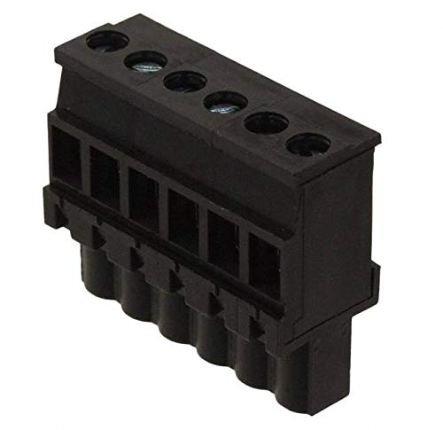 TERM BLOCK PLUG 6POS 5.08MM (Pack of 10)