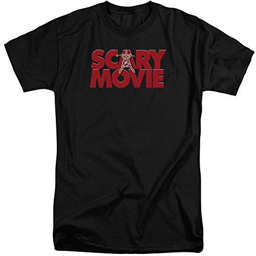 Scary Movie Logo Tall T-Shirt, Black, 3XLT]()