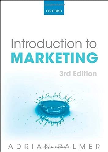 Introduction to Marketing: Theory and Practice by Adrian Palmer (2012-05-18)
