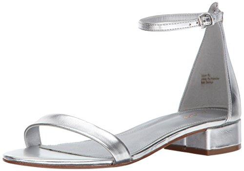 Sandal Women Silver B Aldo US Flat 6 Angilia PSn78HxB