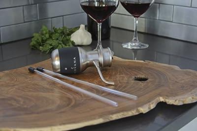 Aervana - One-Touch Luxury Wine Aerator (Original, Award Winning, Meets FDA Standards, Electric Wine Aerator)