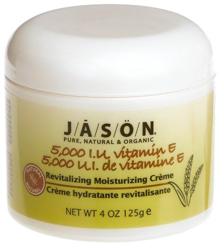 Jason Natural Cosmetics Crème hydratante, Vit E, 5000 UI, 4 oz