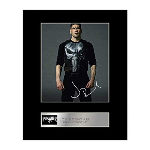 iconic pics Jon Bernthal Signed Mounted Photo Display Punisher Autographed Gift Picture Print