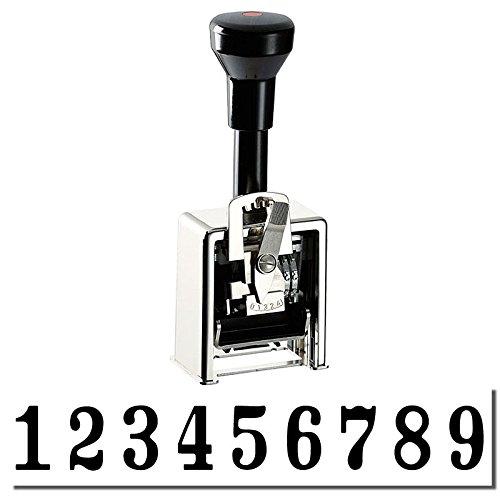 9 Digit Reiner Numbering Machine Model - Reiner Numbering Machines