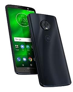 """Motorola Moto G6 Plus - Smartphone DE 5.9"""" (procesador de Ocho nucleos a 2.2 GHz, Memoria Interna de 4GB, Doble Cámara Inteligente DE 12 MP y 5 MP), Color Azul índigo"""