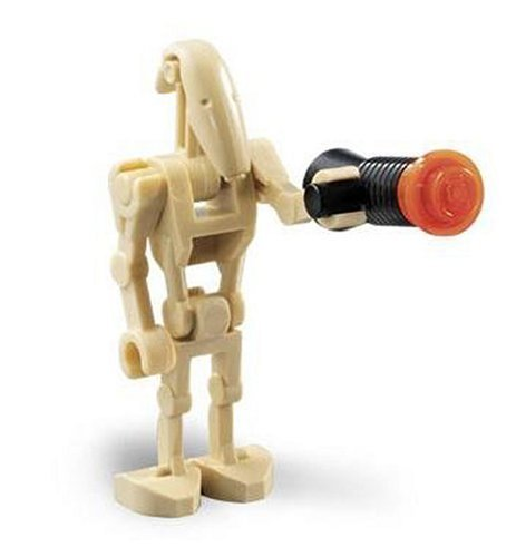 Amazoncom Battle Droid Lego Star Wars Figure Toys Games