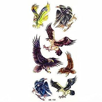 MZP impermeable etiqueta engomada del tatuaje del molde águila ...