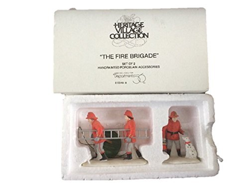 Dept 56 Heritage Village Collection The Fire Brigade # 5546-8 by Heritage Village