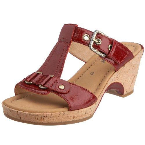 Zuecos De Gabor Para Charol Mujer Rojo Shoes 5qnfU7zH