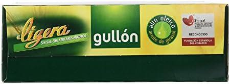 Gullón - Ligera - Galletas sin sal y sin azúcares añadidos ...