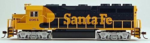 Gp40 Santa (EMD GP40 W/SOUND & DCC -- SANTA FE #2964 (WARBONNET, BLUE, YELLOW))
