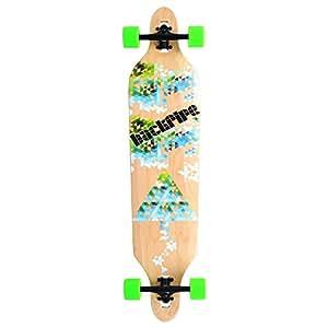 New Cruiser Through 9.5x42 Longboard Skateboard Complete