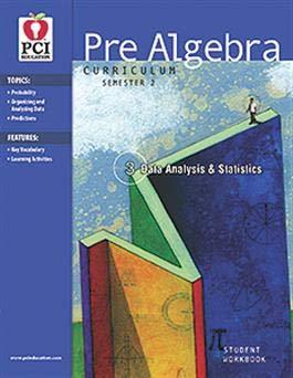Amazon com: Pre-Algebra Curriculum (Semester 2 - Geometry