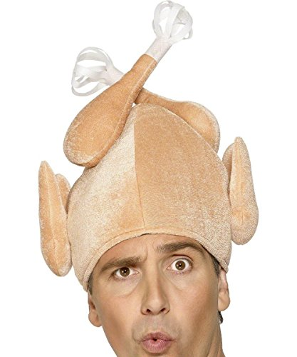 Smiffys Mens Turkey Hat