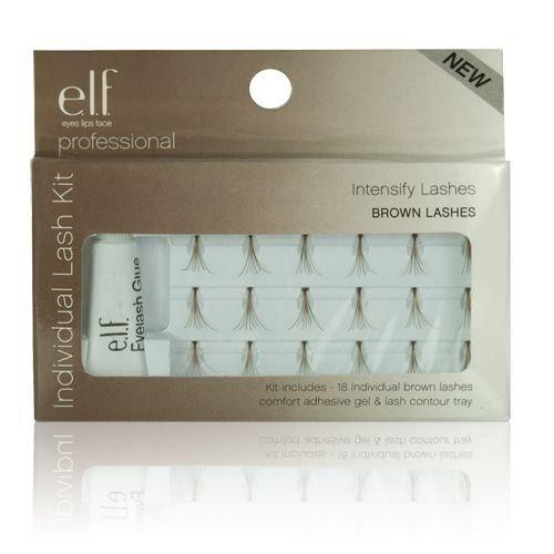 (3 Pack) e.l.f. Essential Individual False Lashes - Individual Brown