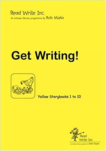 Book Read Write Inc.: Yellow: Get Writing! Book by Ruth Miskin (2006-02-02)