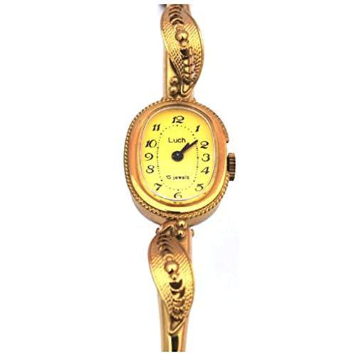LUCH Lady's Women Wind up Wrist Bangle Bracelet Watch