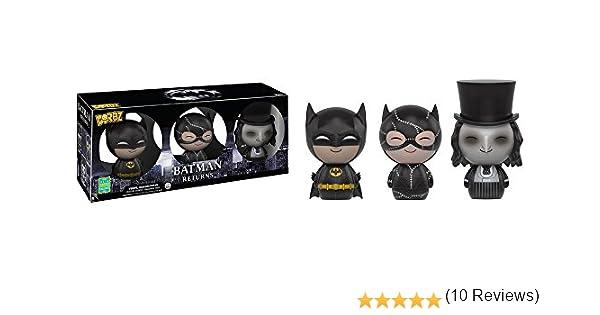 Funko - Figurine Batman - 3-Pack Batman Catwoman Penguin Exclu Dorbz 8cm - 0889698102520: Amazon.es: Juguetes y juegos