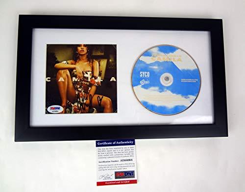 Camila Cabello Sexy Signed Autograph Camila CD Framed PSA/DNA COA A