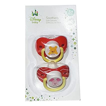 Disney Baby - Winnie the Pooh & Piglet chupetes Chupete 2 x ...