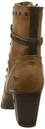 Boots 505 Brown Ankle 1199 Women's Mustang Cognac IqS7g