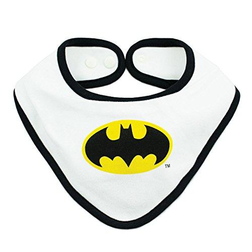 Bumkins DC Comics Bandana Bib, Batman (0-9 Months) (Batman Bandana)