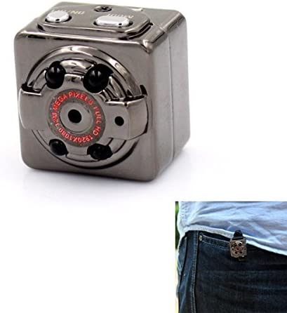 Ugetde Mini Camera HD1080P Sports Camera Mini Metal DV Digital Video Recorder Camcorder hidden spy camera with Infrared Night Vision