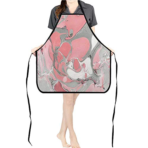 Jiahong Pan Men and Women Apron Marble Beauty Made DIY Texture Paper Marble Style Slice tracery hi res Wallpaper Adjustable Straps Pockets K26.6xG27.6xB10.2