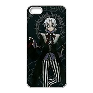 iPhone 5 5s Cell Phone Case White D.Gray man Phone Case Cover Protective Unique XPDSUNTR34982
