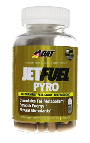 "GAT Jetfuel Pyro, Research Driven ""Feel Good"" Thermogenic Fa"