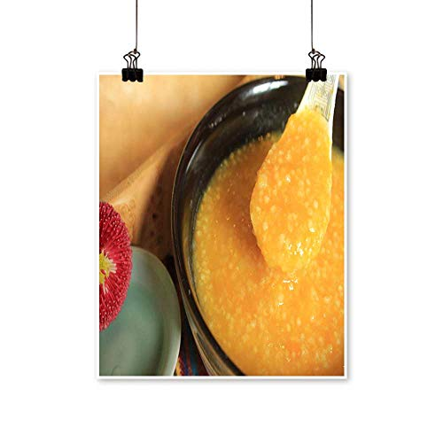 Art Picture Colorful Canvas Print Pumpkin Congee Yangwei xiaomizhou Paintings for Living Room,20