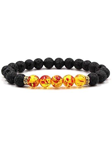 Stretch Strands - Weardear Men Women Stone Beads Stretch Strand Bracelets Healing Therapy Bracelets Strand