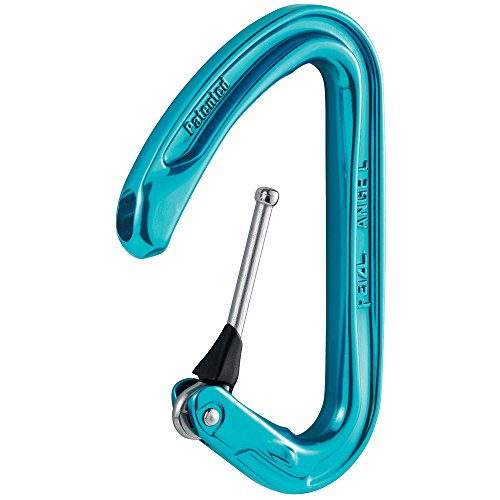 Petzl ANGE L, Light Carabiner for Climbing