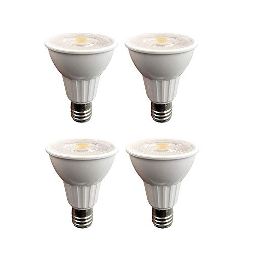 Dimmable R14 LED 5W Mini Reflector Light Bulb (40W Incandescent Equivalent) 3000K Soft White, 400 Lumen, E17 Intermediate Base Light Bulb, Indoor Spotlight 4 Pack(R14-5W)
