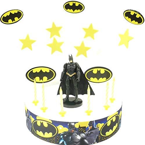 BATMMAN - Juego de decoración para tarta de cumpleaños ...