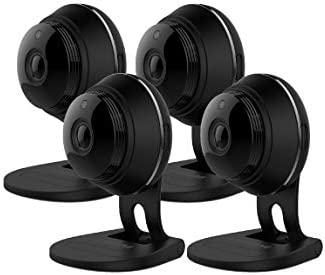 Samsung SNH-C6417BNB SmartCam HD Plus 1080p Full HD Wi-Fi Camera Black Renewed 4 Pack