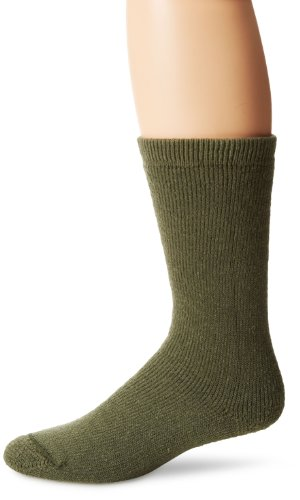 Wigwam Men's 40 Below Heavyweight Boot Socks, Olive, Large