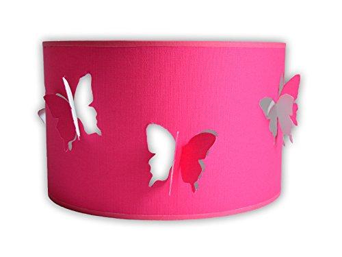 Lampe De Chevet Rose Papillons Ideal Chambre Petite Fille