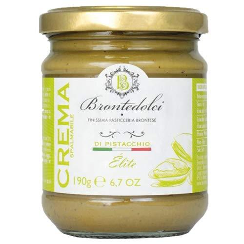 Crema de pistacho, el 40% de los pistachos de Sicilia, ideal para el desayuno, pero sobre todo para cosas dulces -190g: Amazon.es: Alimentación y bebidas