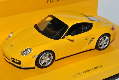Minichamps Porsche Cayman 987C Coupe Gelb 2005-2013 1 43 Modell Auto B00G4JVEV0 Miniaturmodelle Vollständige Spezifikation  | Viele Stile