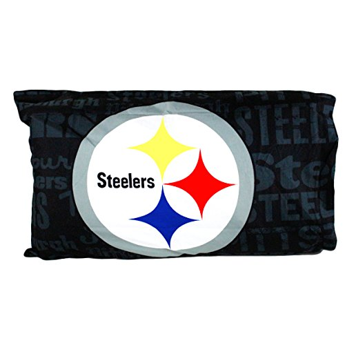The Northwest Company Two Officially Licensed NFL Anthem Polyester Pillowcases - Pittsburgh Steelers