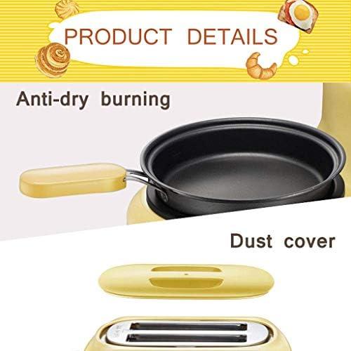 Broodrooster met Pan nieuwe hoogwaardige multifunctionele Huishoudelijke Toaster Mini Ontbijt Maken 3-in-1 Egg Steamer Sandwich Making Machine for Kitchen AQUILA1125