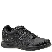 New Balance - Womens 577 Cushioning Walking Shoes, 9.5 2E US, Black (BK)