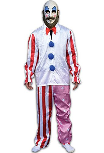 Cult Classic Movies Costumes (HOUSE OF 1,000 CORPSES CAPTAIN SPAULDING COSTUME)