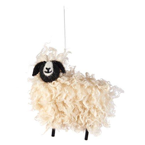 C&F Wooly Sheep Ornament Multi ()