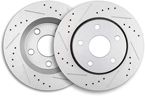 2007 2008 2009 2010 Fit Jeep Wrangler OE Replacement Rotors Ceramic Pads F+R