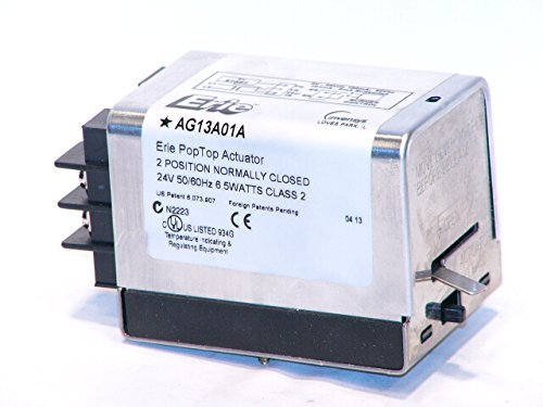 Schneider Electric AG13A01A Tac Erie Spring Return Two-Position General Close-Off Actuator with End Switch, Normally Closed ()