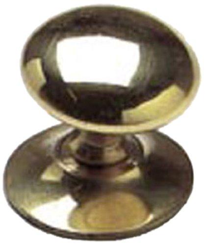 Bulk Hardware BH01007 Brass Victorian Cupboard Cabinet Door Knobs, 25mm (1 inch) - Pack of 20