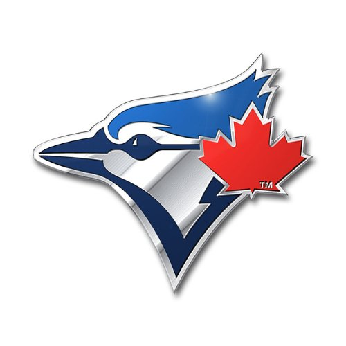 (MLB Toronto Blue Jays Die Cut Color Automobile Emblem)